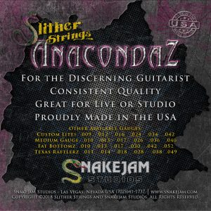 Slither Strings - Anacondaz - Heavys