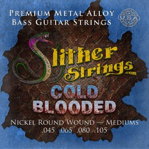 Slither Strings - Cold Blooded (Mediums) Bass Guitar Strings