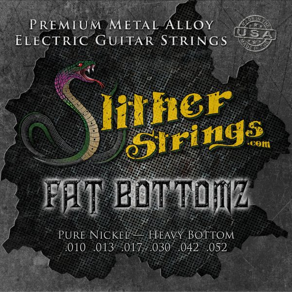 Slither Strings - Fat Bottomz - Heavy Bottom Guitar Strings