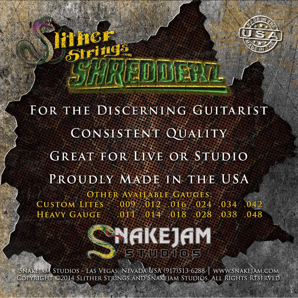 Slither Strings - Shredderz Medium Gauge
