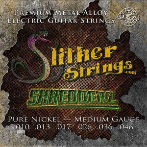 Slither Strings - Shredderz (Medium Guage) Electric Guitar Strings
