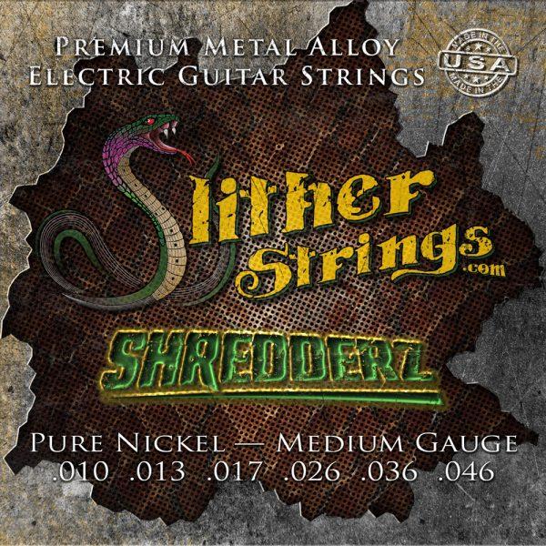 Slither Strings - Shredderz (Medium Guage) Electric Guitar Strings