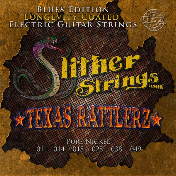 Slither Strings - Texas Rattlerz - Pure Nickel Coated Guitar Strings
