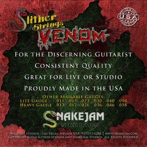 Slither Strings - Venom Medium Lites